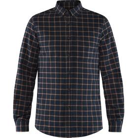 Fjällräven Övik Flannel Shirt Men dark navy